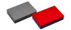 Imanes de ferrita – magnetizados perpendicularmente a la superficie