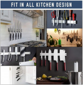Magnetic Knife Holder fits in every Kitchen Design
