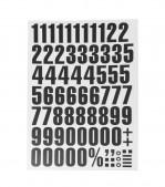 Lettre et chiffre magnétique - 6