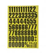 Lettre et chiffre magnétique - 7
