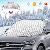 Autoscheibenabdeckung mit Magnet