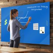 Das rahmenlose Glasboard veredelt jeden Raum, obim Büro, im Restaurant oder zu Hause.