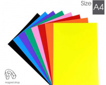 Coloured Magnetic Sheets for Crafts