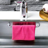 Support magnétique pour chiffon/torchon pour évier/lavabo de cuisine - L: 23cm