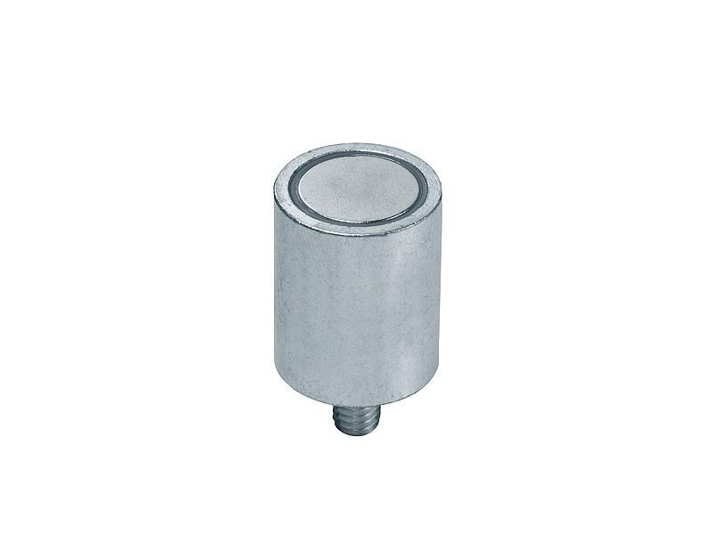 Stabgreifer | Haltemagnet aus Neodym (NdFeB), mit Gewindezapfen, Ø 6mm - 63mm