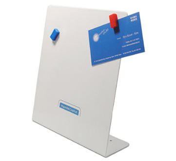 edelstahl schreibtisch pinnwand memoboard 12 cm x 22 cm magnete f r den wohnbereich magnete. Black Bedroom Furniture Sets. Home Design Ideas