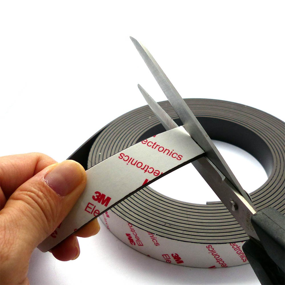 3m Magnetklebeband Magnet Klebeband 1 6mm X 25mm X 1m