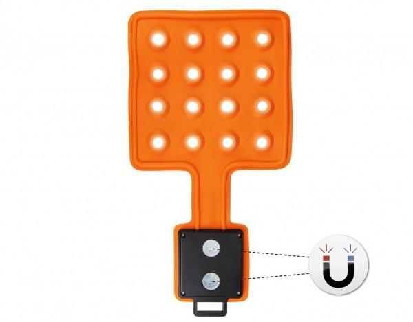 LED Magnet-Leuchte Magnet-Lampe flexibel mit Magneten | 16 LED's - Flexi-Pad - 2