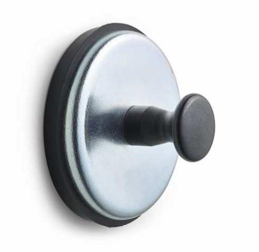 Griffmagnet mit Gummikappe Ferrit Ø 57mm Haftkraft bis 27 kg