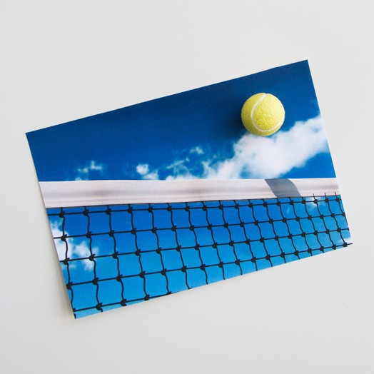 Memo magnets Tennis | Deco magnets set of 4 yellow tennis balls