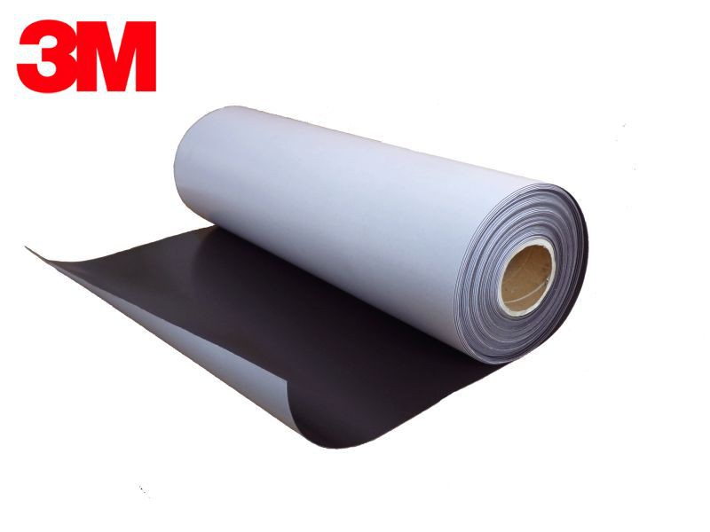 3M Self Adhesive Flexible Magnetic Sheet NEODYMIUM 1,0mm x  30cm x 100cm, strong