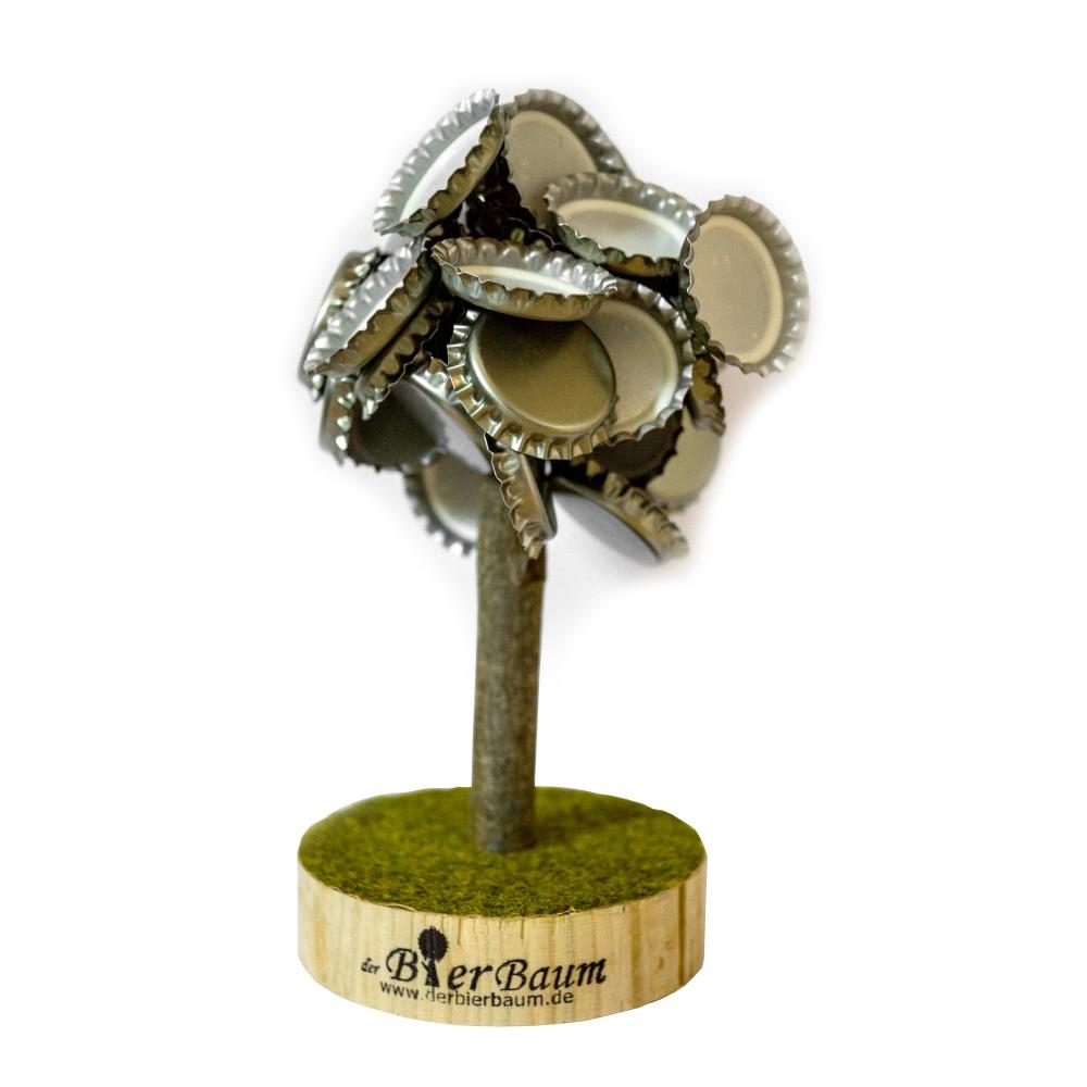 Kronkorken Baum - Magnetischer Bierbaum - Kronkorken Magnet 12cm, hält bis 5,7kg