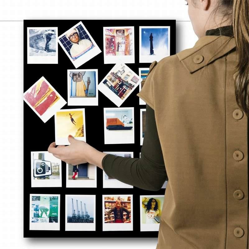 magnetische bilderrahmen wei 6er set magnete f r den wohnbereich. Black Bedroom Furniture Sets. Home Design Ideas