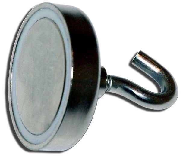 Neodymium Pot Threaded Hook / Rare Earth Threaded Hook Pot Magnets