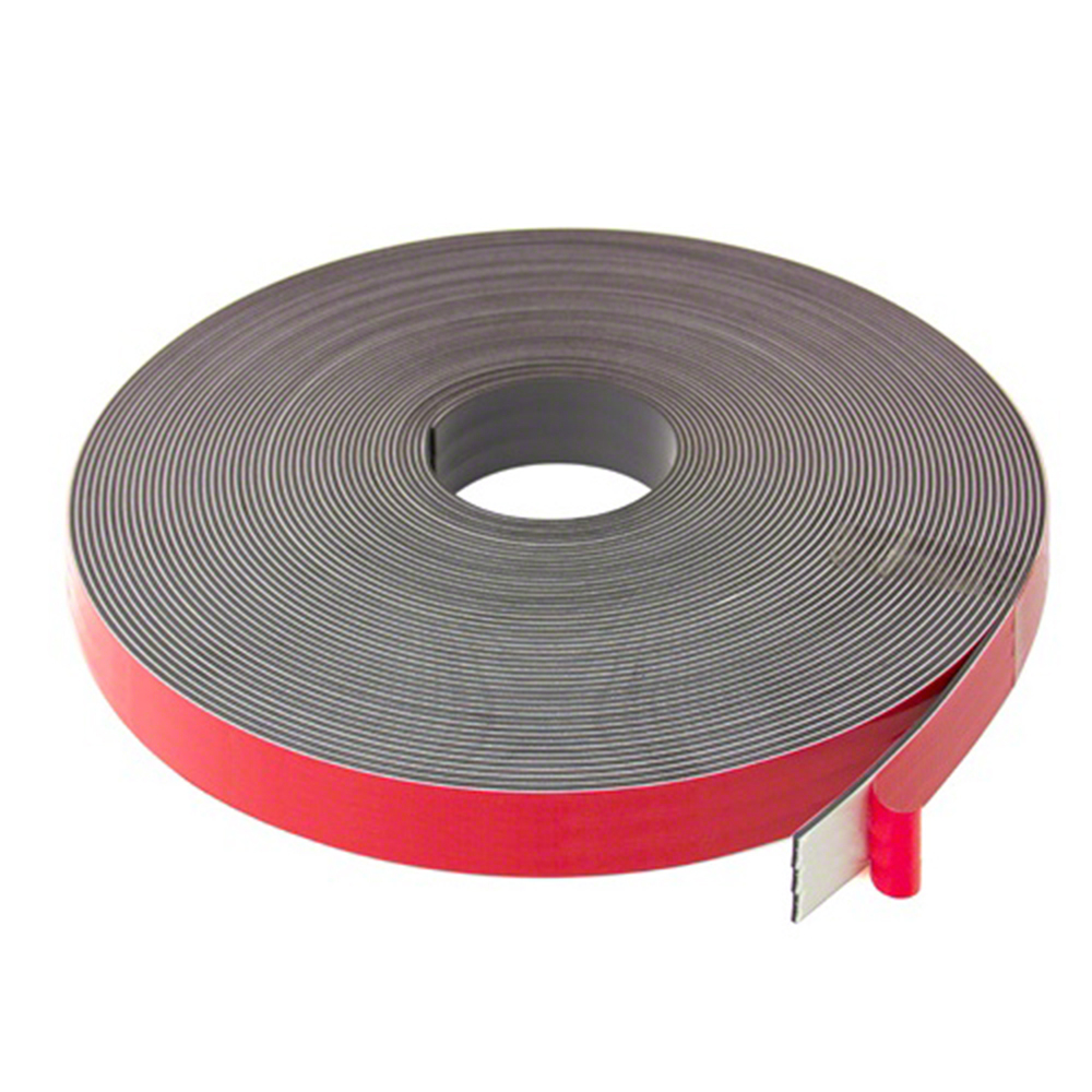 25,4mm x 2.5mm thick Magnetic Tape with Premium Foam Adhesive