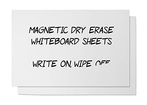 Magnetic Dry Erase White Board Sheet for Kitchen Fridge