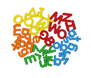 ABC Magnets / Magnetic Alphabet Letters & Numbers