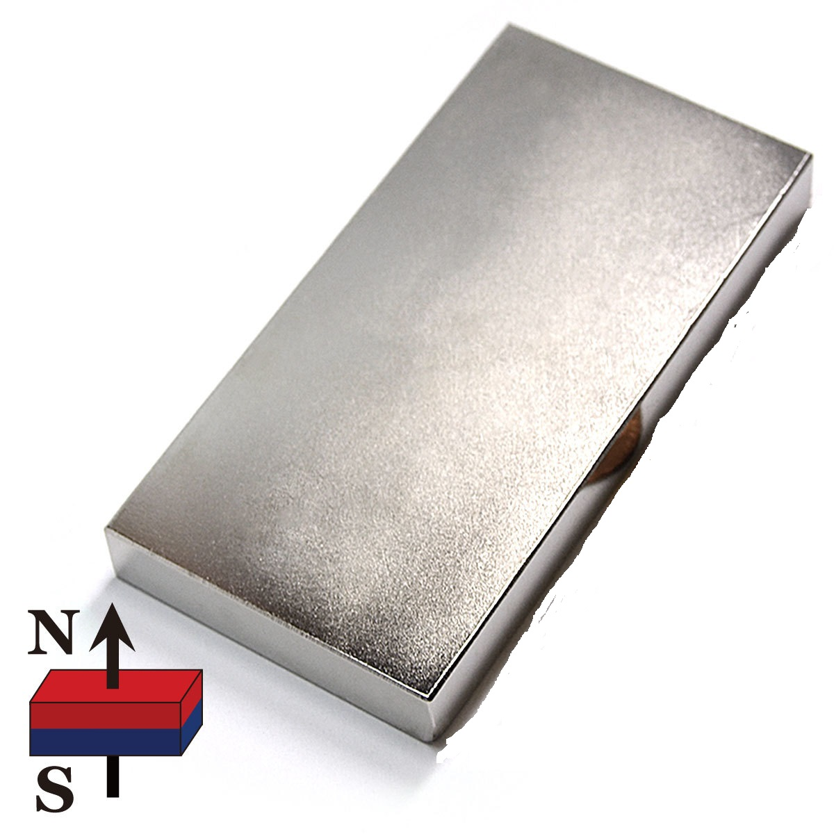 Strong Neodymium Block Cube Bar Magnets, NdFeB Neodymium Rectangular / Block Magnets