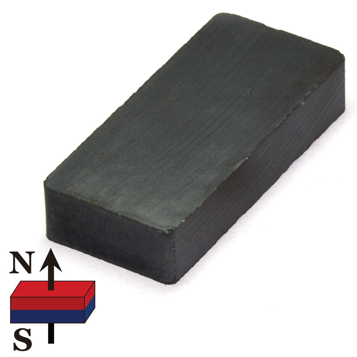 Strong Ferrite Block Rectangular Magnet, Ferrite Rectangular Magnets, Ferrite magnets