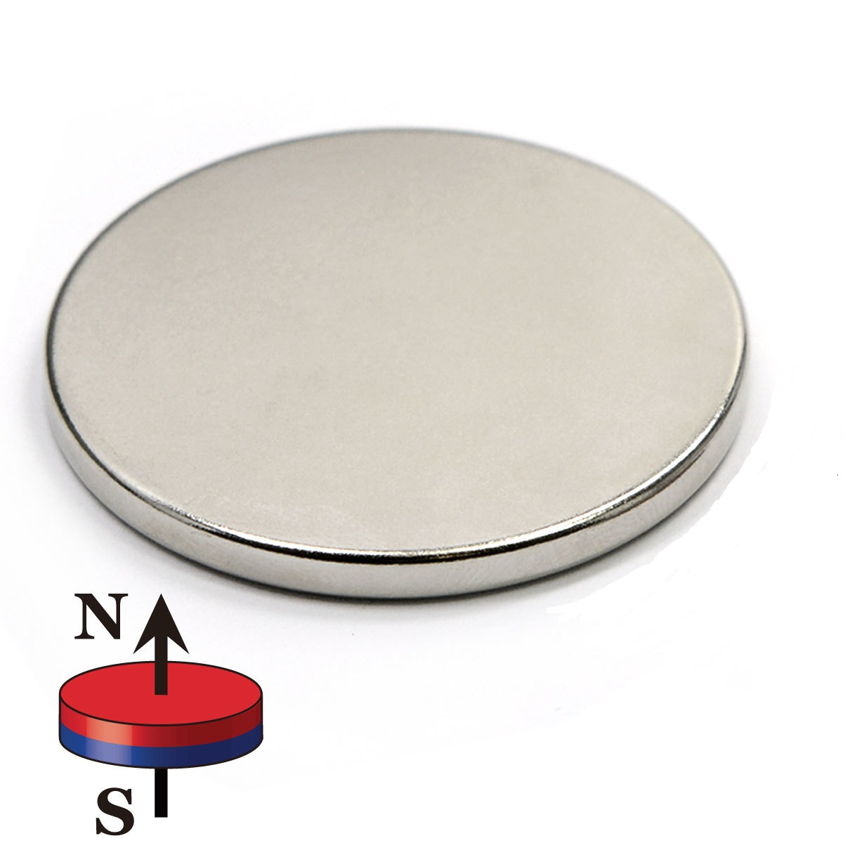 Circular Disc Magnets, Disc Neodym Magnets: super strong holding magnet