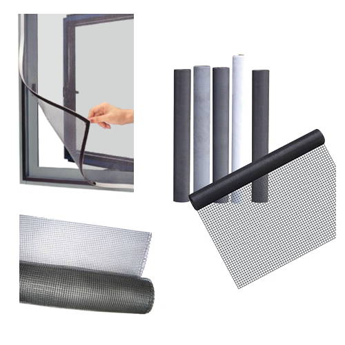 Magnetic Secondary Glazing Fly Screen strips A and B 1,5mm x 12,7mm x 10m
