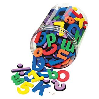 ABC Magnets, Magnetic Alphabet Letters, Whiteboard Magnets for Kids, ABC & 123 Magnets