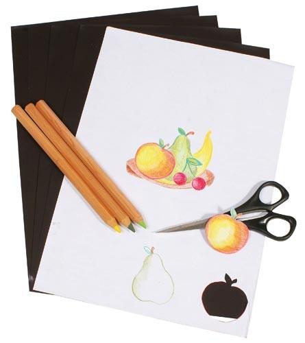5 Blatt A3 Fotopapier magnetisch Magnetpapier weiß matt – für Inkjet, Premium-Magnetpapier