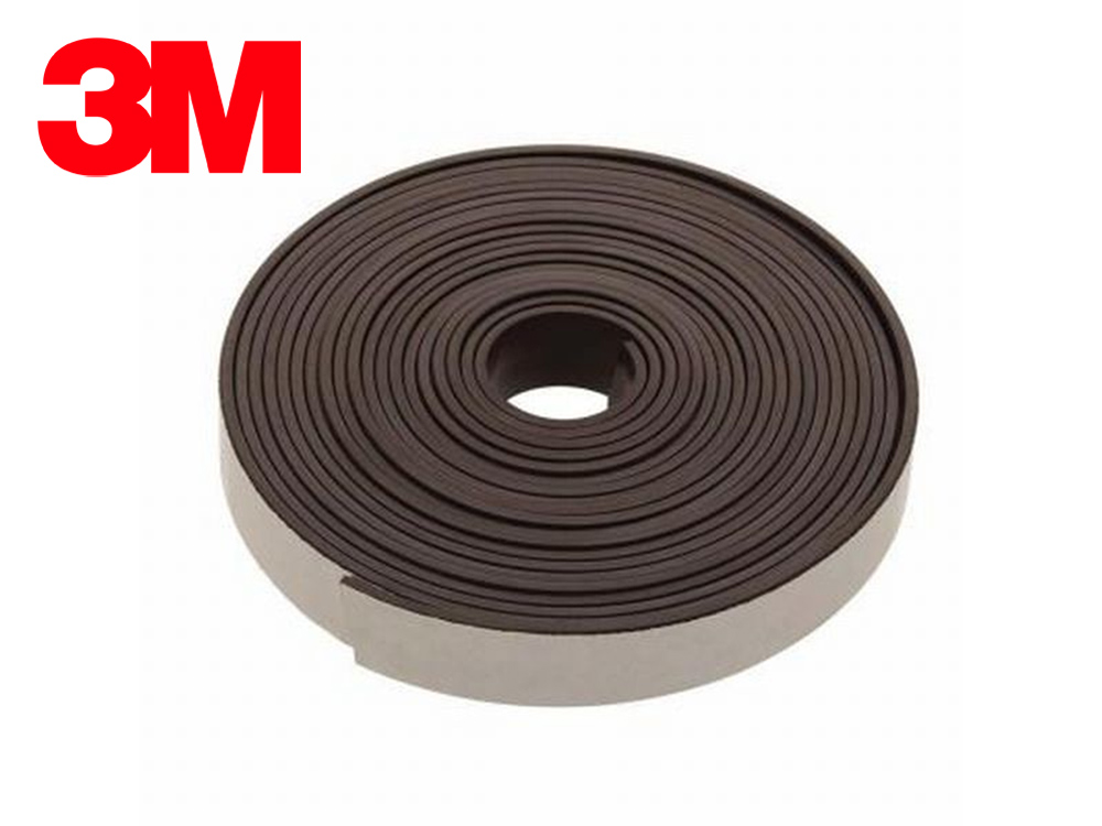 Cinta magnética flexible con adhesivo 3M / Cinta magnética adhesiva