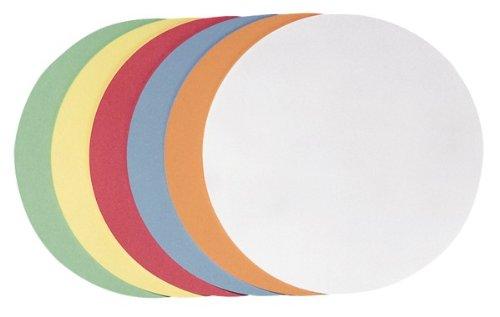 10 x Magnetfolie Magnetschild roh braun rund 0,9 mm dick Ø 10-20cm