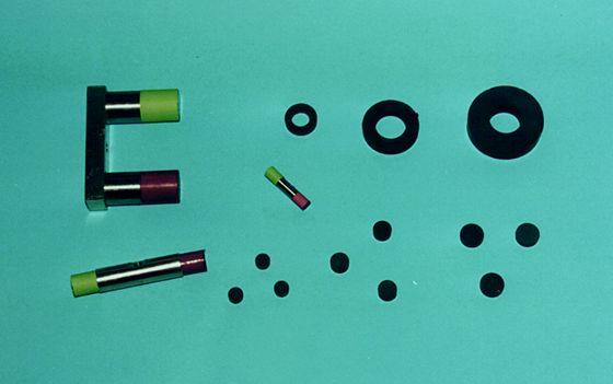 Verschiedene Formen von Dauermagneten
