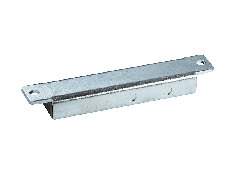 Permanent magnetic bar ferrite with steel housing - 103mm x 20mm x 12mm - 1