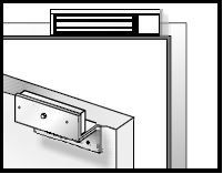 Permanent magnet bars - magnetic strip, mounting, fastening, galvanized steel housing - 2