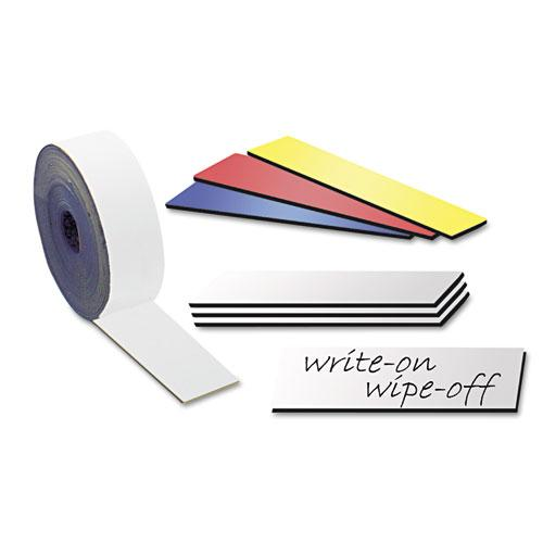 Label Magnets, Damp Erase Write On Wipe Off Magnetic Strips, Magnetic write-on/wipe-off strips, Erasable Magnetic Labels, dry erase magnetic tape strips, Magnetic Labels, Flexible Magnets, Label Magnets, Magnet Tape, Magnetic Strips, Warehouse magnets for labels or to write on, Magnetic Inventory Labels, Magnetic Rack Labels and Signs