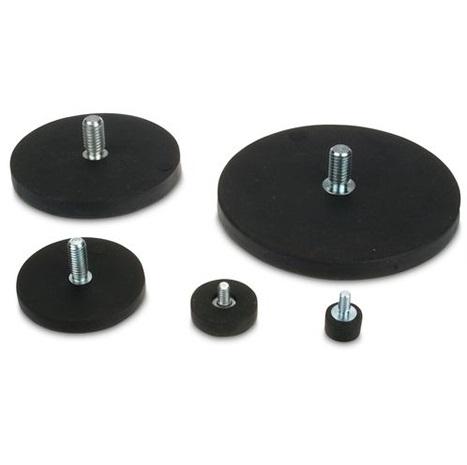 neodym magnet systeme mit gewindezapfen gummiert kaufen online bei magnosphere. Black Bedroom Furniture Sets. Home Design Ideas