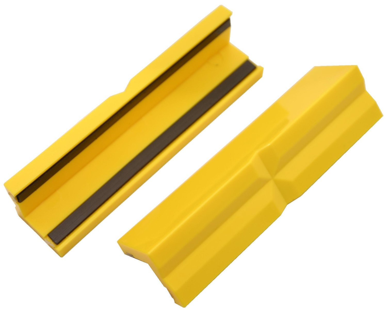 Schonbacken für Schraubstock magnetisch, Kunststoff PE - 103 mm lang - 1 Paar