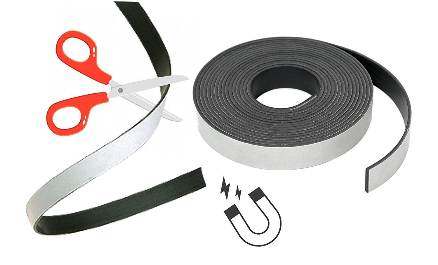 High Energy Magnetic Tape/Strips, Flexible Magnets - very strong