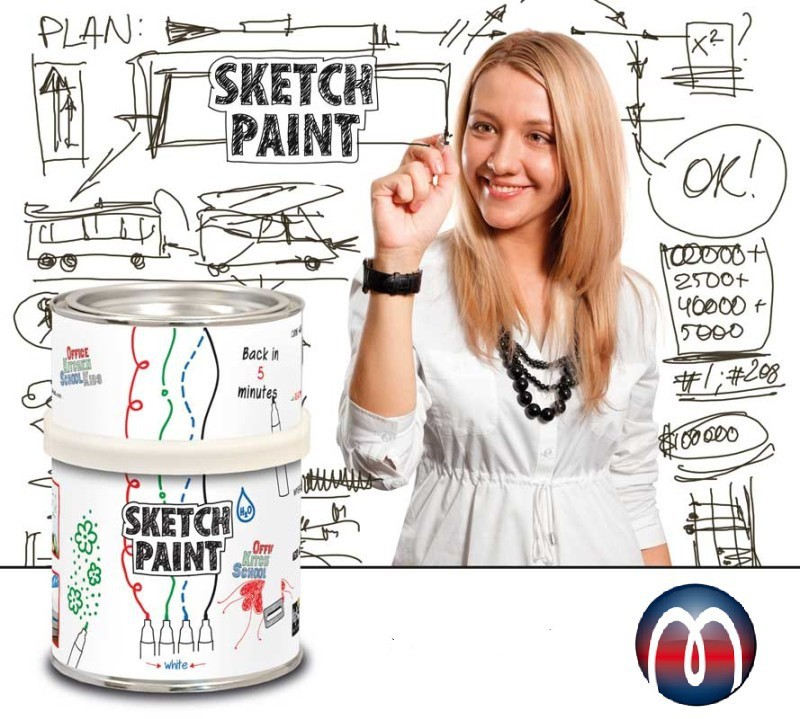 Whiteboard Paint / High-Performance Dry Erase Paint