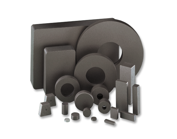 Ceramic (Ferrite) Magnets: Discs, Blocks and Rings