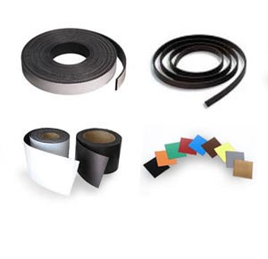 Flexible Magnetic Tape/Strips A and B Profiles with premium self-adhesive