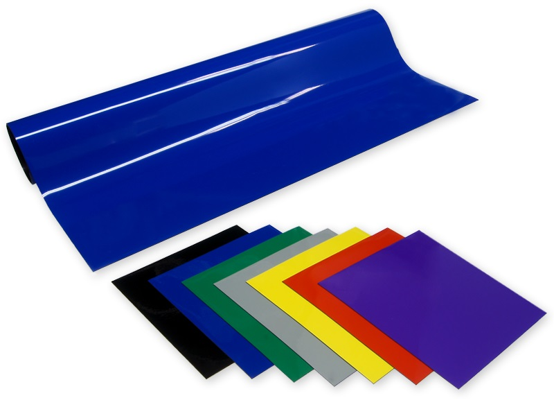 Colored Vinyl Magnet Sheets
