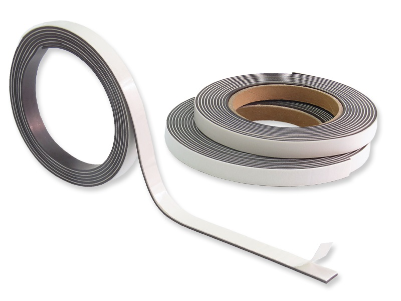 Magnetklebeband - Selbstklebendes Magnetband 12, 7mm x 1, 5mm, 5m-30m, Magnetklebeband Selbstklebendes Magnetband Magnetstreifen Magnetband selbstklebend magnetleiste