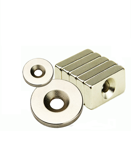 Neodymium Countersunk Industrial Magnets