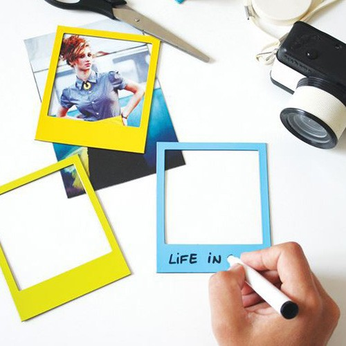 Magnetic Photo Picture Frames and Refrigerator Magnets