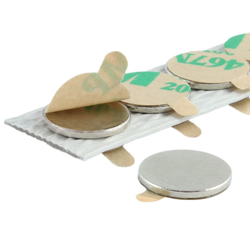 Self-Adhesive Neodymium disc magnets and block magnets
