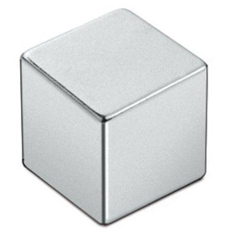 3 x Magnetic Cube 12 x 12 x 12mm Neodymium N48 (NdFeB) Gold-plated - force 11 kg - 3 pieces - Super Strong Rare Earth Cube Magnets
