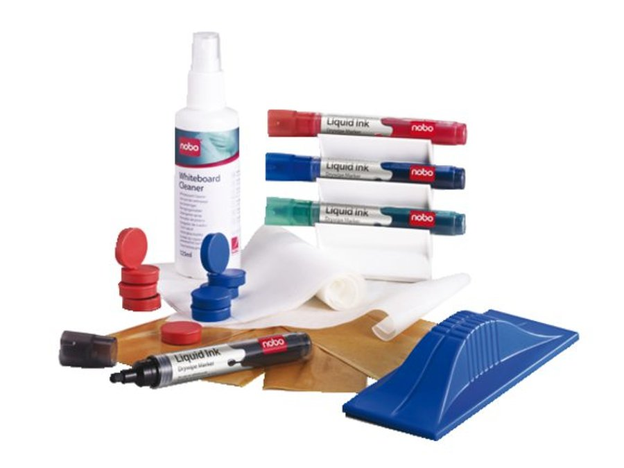 Whiteboard Starter Kit, Whiteboard Magnetic Accessory Kit, Pens, Eraser, Cleaning Fluid, Magnets, Magnetic Board Eraser, Whiteboard Surface Cleaner, Magnetic Whiteboard Gridding Tape, Magnetic Pen Holder, Wall Stickers