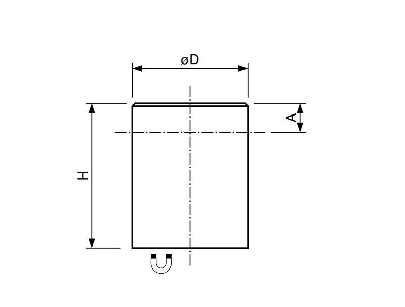 Stabgreifer   Haltemagnet aus Neodym (NdFeB), Ø 4mm - Ø 32mm - 1