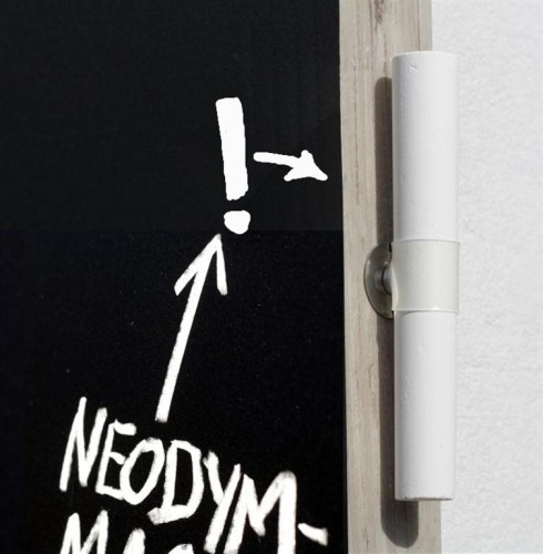 magnethalter f r kreide kunststoff manschette l nge 9 cm. Black Bedroom Furniture Sets. Home Design Ideas