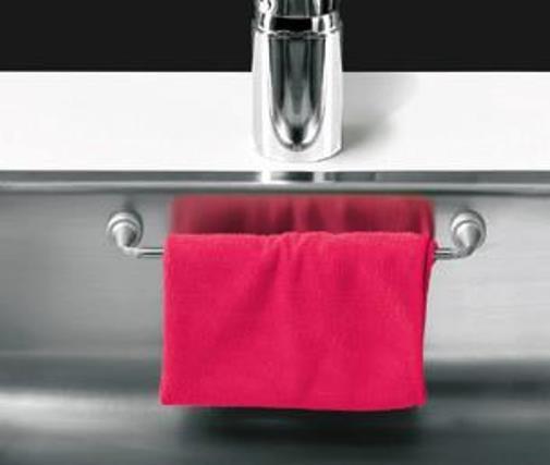 sp ltuchhalter magnetisch edelstahl mit gegenmagneten l nge 23 cm 1 st ck magnete f r den. Black Bedroom Furniture Sets. Home Design Ideas