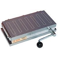Magnetic Lathe Chuck, rectangular, Clamping Force 80 N /sq cm